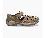 Hydro H2O Hiker Sandal, Gunsmoke/Orange, dynamic