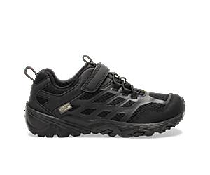 Moab FST Low A/C Waterproof Sneaker, Black/Black, dynamic