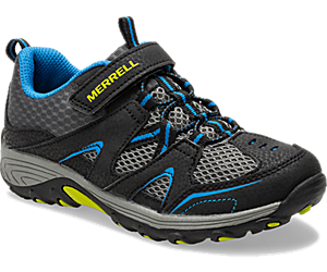 Trail Chaser Shoe, Black/Blue, dynamic
