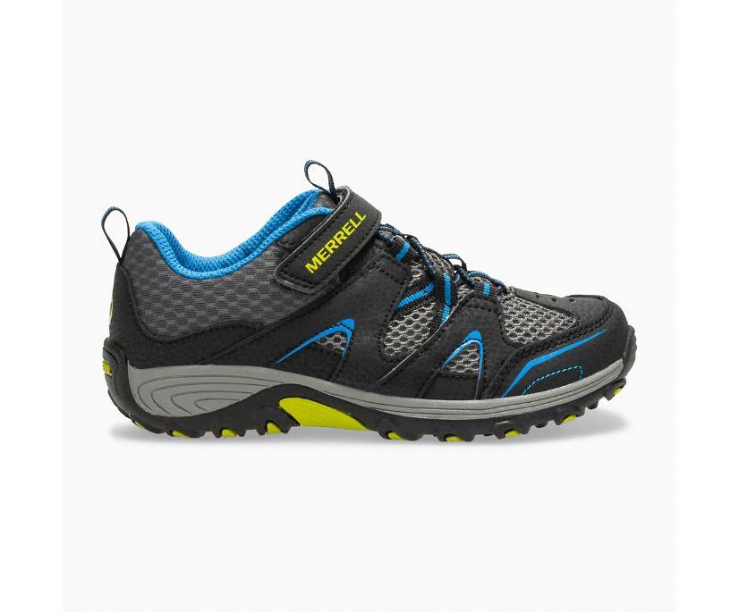 Trail Chaser Shoe, Black/Blue, dynamic
