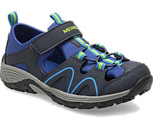 Hydro Teton Sandal, Navy, dynamic