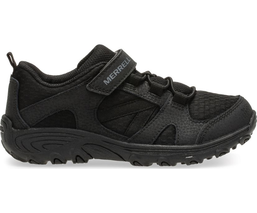 Outback Low Sneaker, Black/Black, dynamic