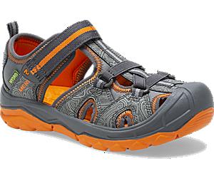 Hydro Sandal, Grey/Orange, dynamic