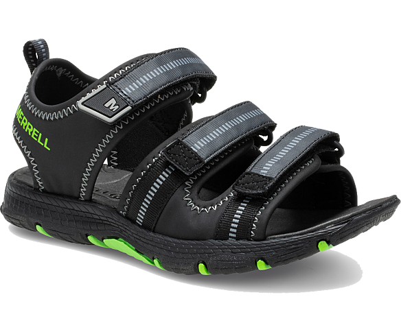 Hydro Creek Sandal, Black, dynamic
