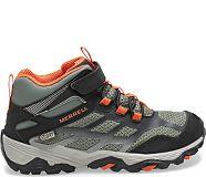 Moab FST Mid A/C Waterproof Boot, Olive/Black, dynamic
