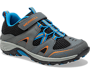 Trail Chaser Shoe, Grey/Black, dynamic