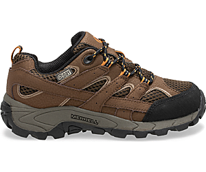 Moab 2 Low Lace Waterproof Sneaker, Earth, dynamic