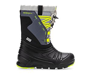 Snow Quest Lite 2.0 Waterproof Boot, Grey/Citron, dynamic