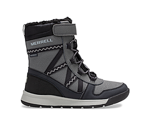Snow Crush 2.0 Waterproof Boot, Black/Grey, dynamic
