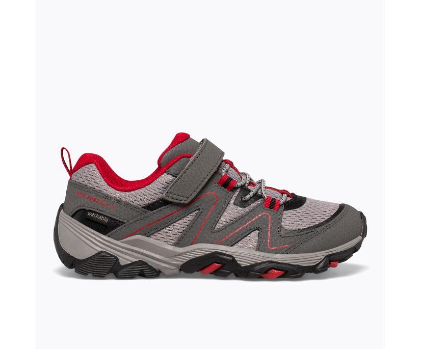 Trail Quest, Grey/Red/Black, dynamic