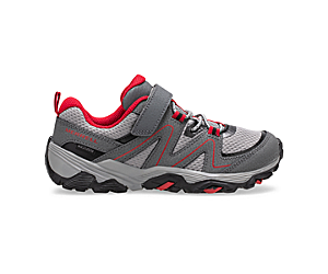 Trail Quest, Grey/Red/Black, dynamic
