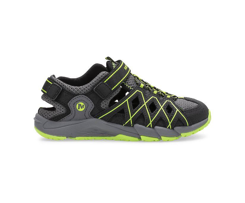 Hydro Quench Sandal, Grey/Black, dynamic