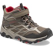 Moab FST Mid A/C Waterproof Boot, Boulder, dynamic