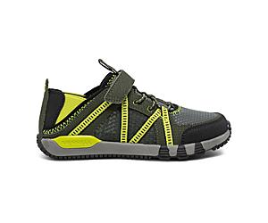 Hydro Free Roam Sandal, Olive/Black/Lime, dynamic