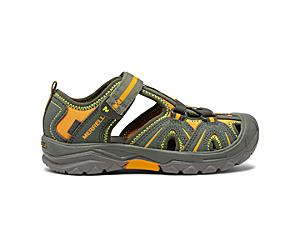 Hydro Sandal, Olive, dynamic