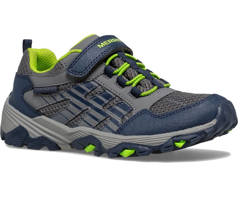 Moab Voyager Low A/C Shoes, Grey/Navy, dynamic