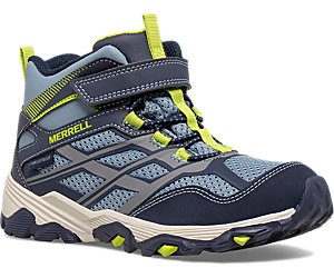 Moab FST Mid A/C Waterproof Boot, Navy/China Blue, dynamic