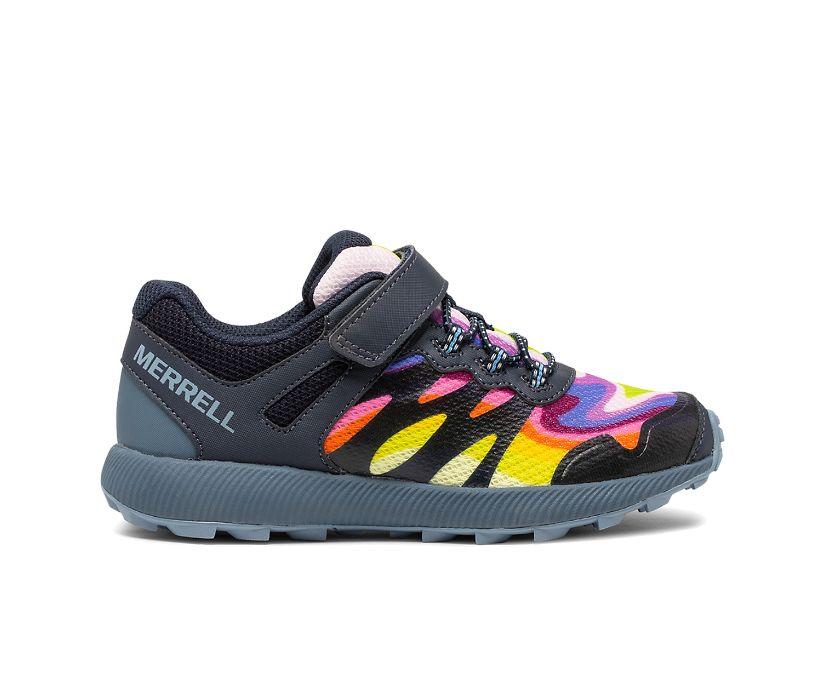 Nova 2 Rainbow Sneaker, Rainbow Mountains, dynamic
