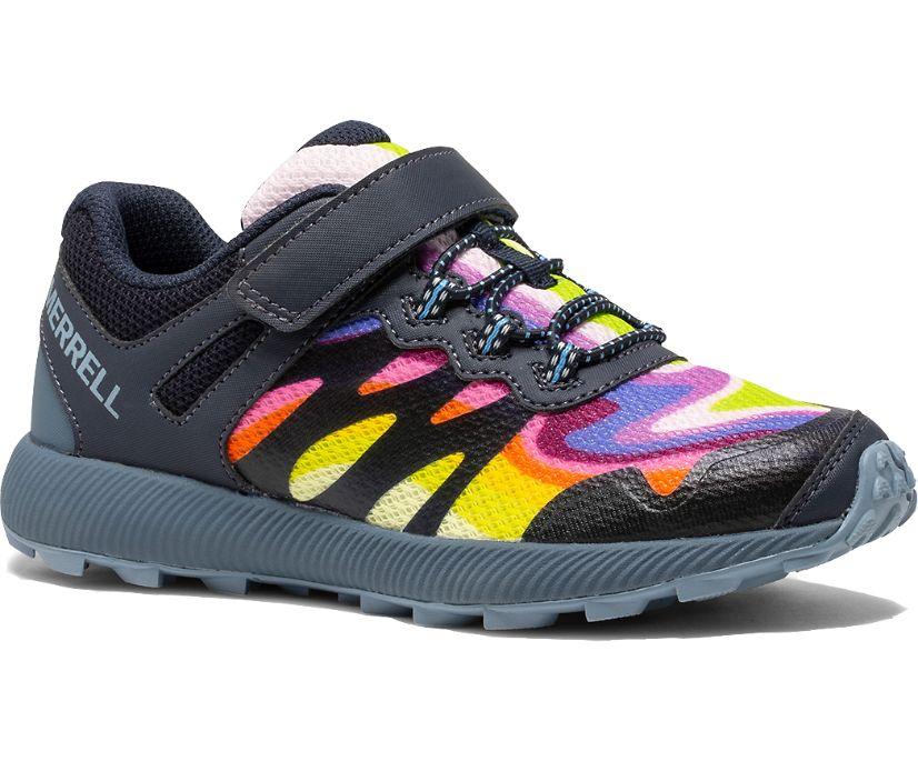 Nova 2 Rainbow Sneaker, Rainbow Mountains, dynamic