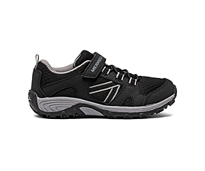 Outback Low Sneaker, Black/Grey, dynamic