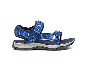 Kahuna Web Sandal, Blue Dino, dynamic