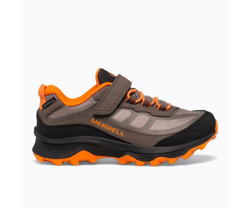 Moab Speed Low A/C Waterproof, Gunsmoke/Black/Orange, dynamic