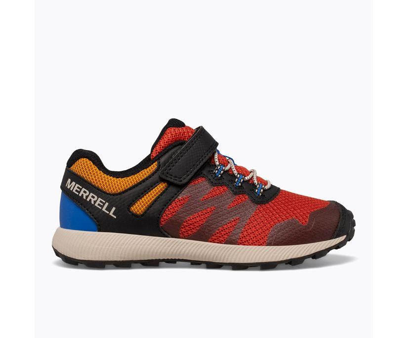 Nova 2 Sneaker, Black/Rust, dynamic