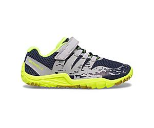 Trail Glove 5 A/C Shoe, Grey/Navy/Citron, dynamic