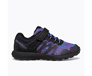 Nova 2 Glow-in-the-Dark Sneaker, Night Sky, dynamic