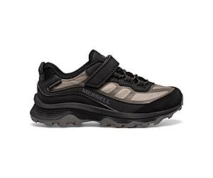 Moab Speed Low A/C Waterproof, Black, dynamic