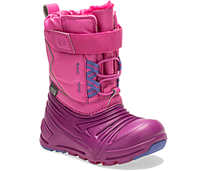 Snow Quest Lite 2.0 Waterproof Jr. Boot, Pink, dynamic