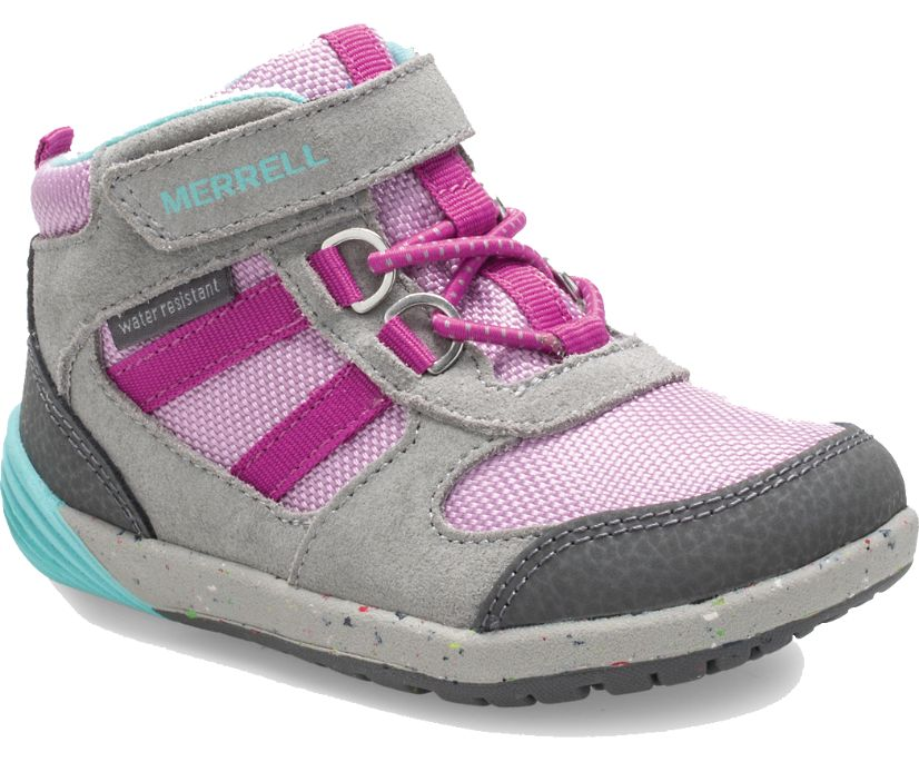 Bare Steps® Ridge Jr Hiker, Grey/Purple, dynamic