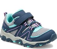 Trail Quest Jr., Navy/Grey/Turquoise, dynamic
