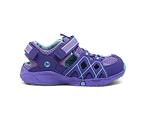 Hydro Quench Jr. Sandal, Purple, dynamic