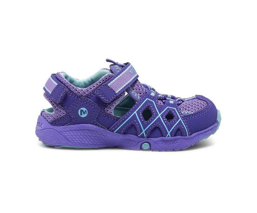 Hydro Quench Jr. Sandal, Purple, dynamic
