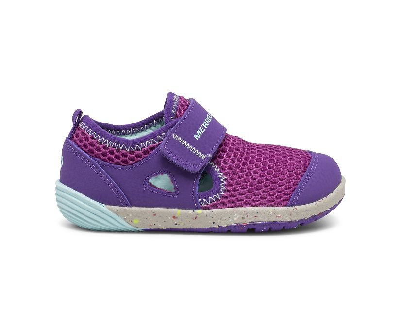 Bare Steps® H2O Sneaker, Purple/Turquoise, dynamic