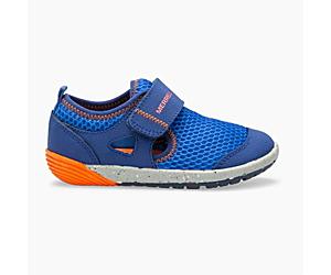 Bare Steps® H2O Sneaker, Blue/Orange, dynamic