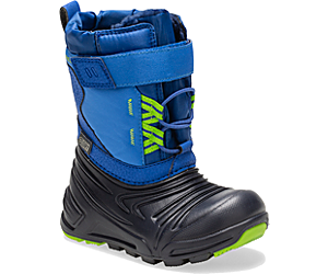 Snow Quest Lite 2.0 Waterproof Jr. Boot, Blue, dynamic