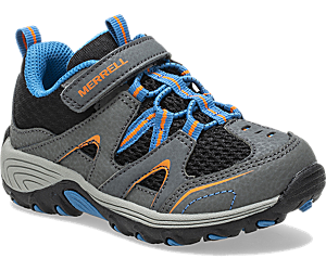 Trail Chaser Jr. Shoe, Grey/Black, dynamic