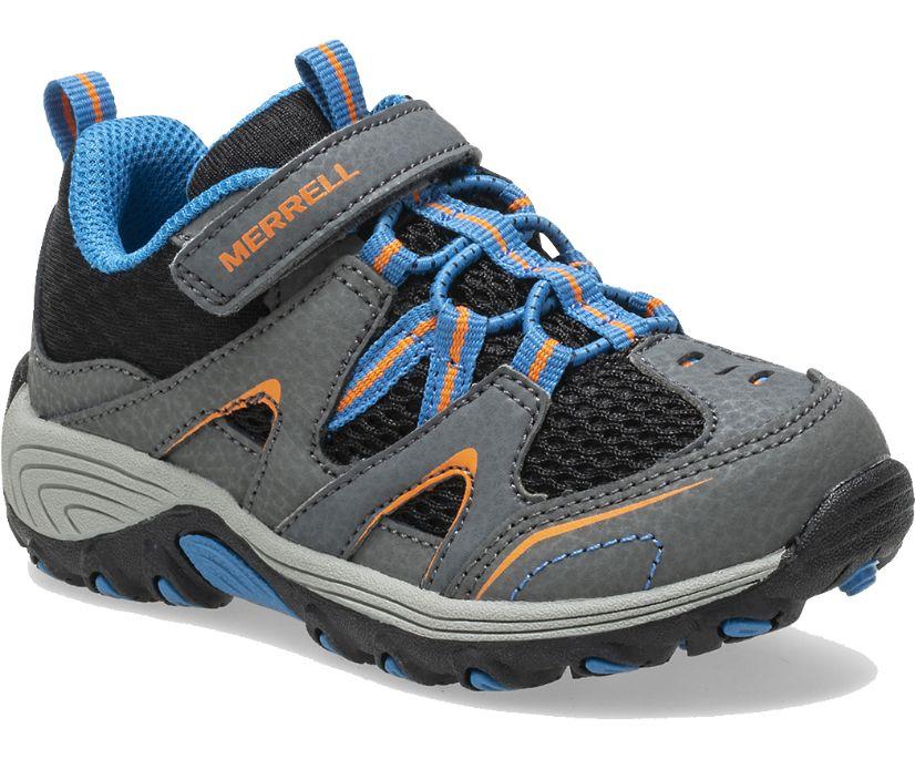 Trail Chaser Jr. Shoe, Grey/Black, dynamic