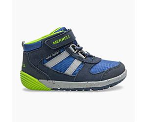 Bare Steps® Ridge Jr Hiker, Navy/Green, dynamic