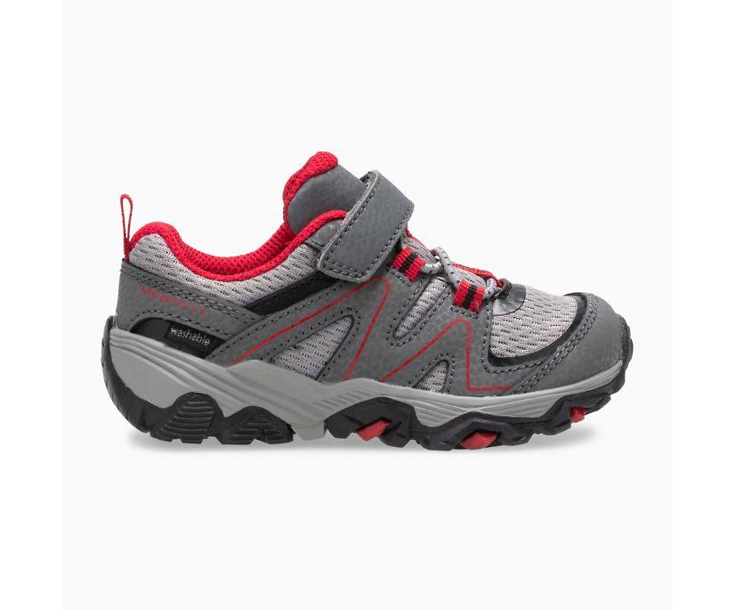 Trail Quest Jr., Grey/Red/Black, dynamic
