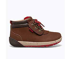 Bare Steps Boot 2.0, Brown Suede, dynamic