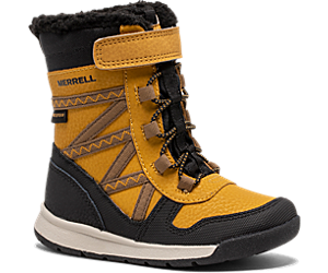 Snow Crush 2.0 Waterproof Jr. Boot, Wheat, dynamic