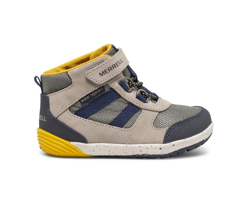 Bare Steps® Ridge Jr Hiker, Tan/Olive/Navy, dynamic