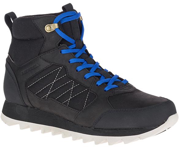 Alpine Sneaker Mid Polar Waterproof, Black, dynamic
