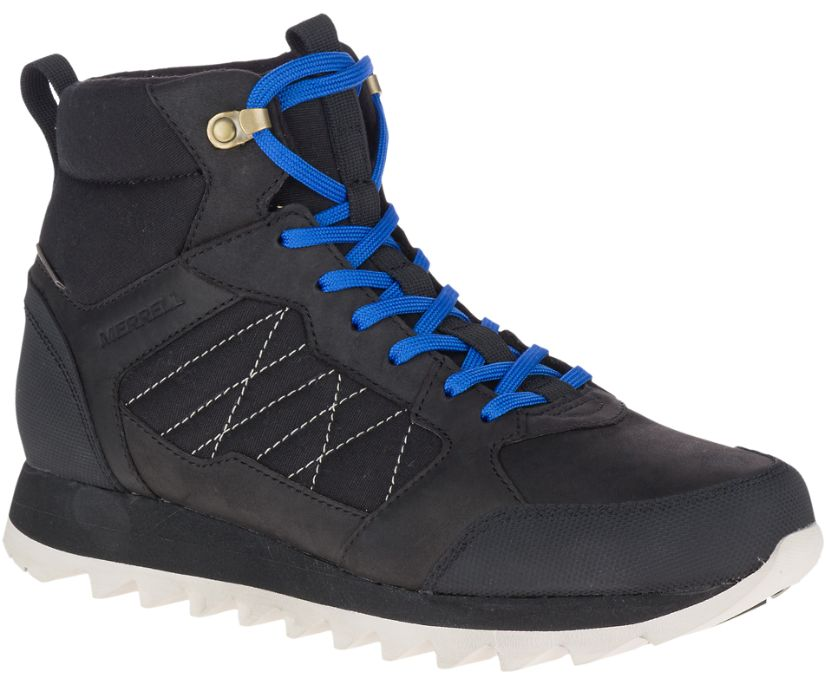 Alpine Sneaker Mid Polar Waterproof, Black, dynamic