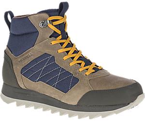 Alpine Sneaker Mid Polar Waterproof, Brindle, dynamic