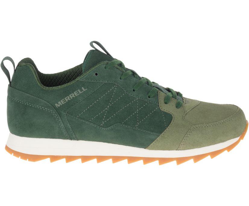 Alpine Sneaker Suede, Forest, dynamic