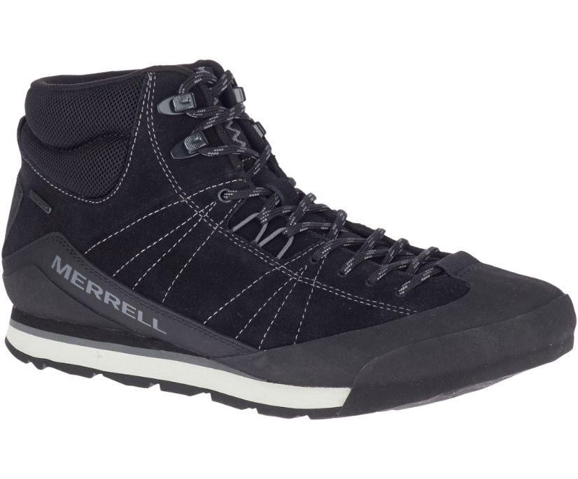 Catalyst Mid Suede Waterproof, Black, dynamic